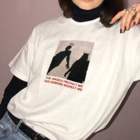 """The Angels Protect Me The Demons Respect Me"" Tee"