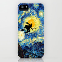 Harry Potter Van Gogh Starry Night Art Painting iPhone & iPod Case by Pointsalestore