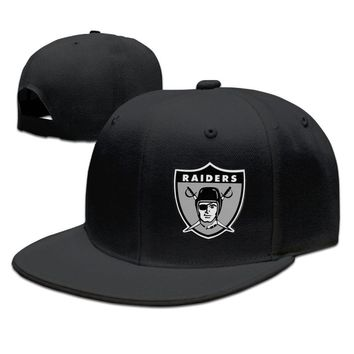 Oakland Raiders Funny Unisex Adult Womens Fitted Hats Mens Fitted Hats