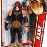 Mattel WWE Wrestling Exclusive Champions Action Figure Kane [with Belt]