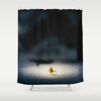 Fallen angel Shower Curtain by HappyMelvin