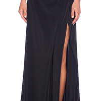 Assali Calia Maxi Skirt in Black