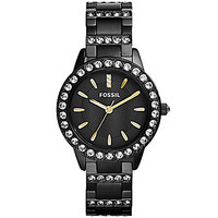 Fossil Jesse Glitz Watch - Black