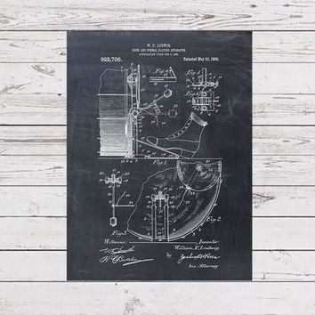 Patent Print of a Drum And Cymbal Patent Art Print Patent Poster