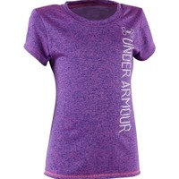 Under Armour Girls' Toddler Co-Mingled Logo Graphic T-Shirt - Dick's Sporting Goods