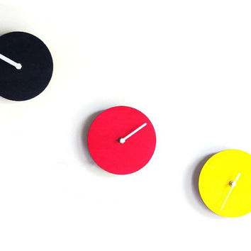 Laser cut wood,modern wall clock,silent wall clock,wood wall clock,large wall clock,home decor wall art,modern home decor,home decor ideas