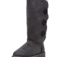 Ugg Women's Bailey Button Triplet Boot - Grey