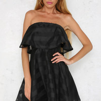 Luxe Night Dress Black