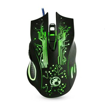 Lantern - 6 Mouse Buttons USB Gaming Mouse - 5000DPI