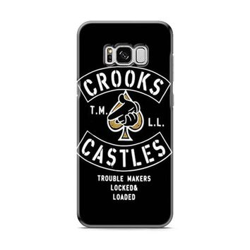 Crooks Castles Air Gun Spades Samsung Galaxy S8 | Galaxy S8 Plus Case