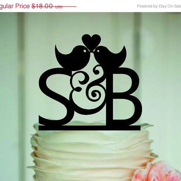 fall sale personalize wedding cake topper Silhouette, bride and groom, silhouette wedding cake topper, Mr and Mrs, monogram cake topper