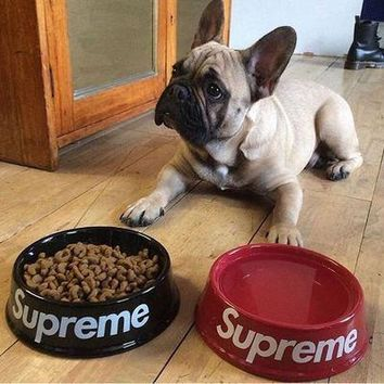 Supreme Pottery Pet's Bowl(Size:21*6.5 cm) [429892468772]
