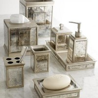 Palazzo Waste Bin - Bath Accessories - Bathroom Organization - Bath | HomeDecorators.com
