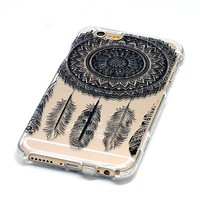iPhone 6S Case,iPhone 6 Case, OMIU(TM) [Big Dreamcatcher] New Fashional Premium PU Leather Flip Magnet Wallet Style Stand Cover Case Protector with Card Slots Fit For Apple iPhone 6/6S(4.7), Sent Stylus