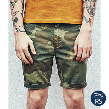 Casual Pants Men's Fashion Summer Vintage Shorts [10422067459]