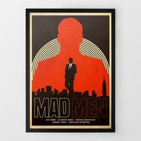 Mad Men Print by Needle Design at Firebox.com