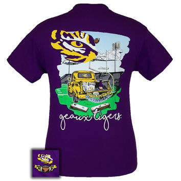 Louisiana State LSU Tigers Tailgates & Touchdowns Party T-Shirt