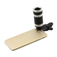 8X Zoom Clip Telescope Camera LENS For Apple Iphone 6