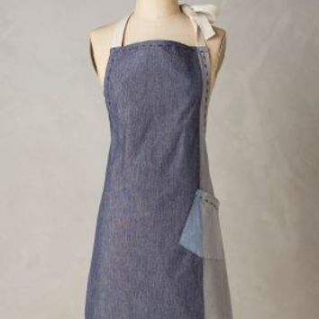 Patch Pocket Apron by Anthropologie