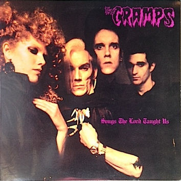 Vintage Vinyl - The Cramps - Lessons the Lord Taught Us - 1980