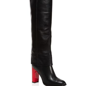 Opening CeremonyStovepipe Block Heel Tall Boots