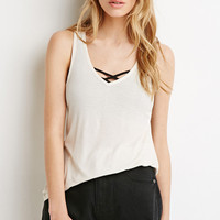 Boxy Ribbed Knit Tank