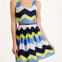 Jack by BB Dakota 'Maggie' Zig Zag Dress