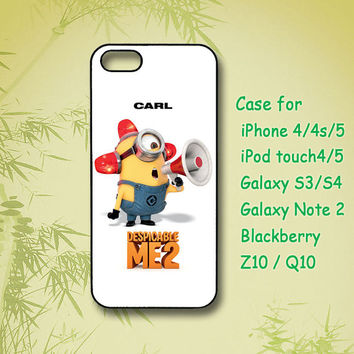 Beedo Minion, ipod 4 case,iPod 5 case, iPhone 4S Case,iPhone 5 Case,Samsung Galaxy S4,Samsung Galaxy S3, Samsung note 2, blackberry z10, Q10