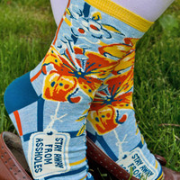Sock Dreams - Stay Away From . . . - Unique Colorful Socks