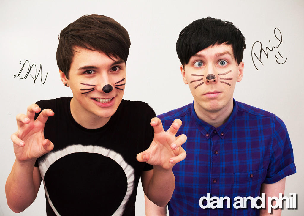 Dan And Phil Photo Poster Signed Limited From