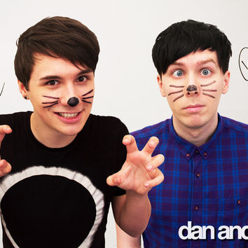 Dan and Phil Photo Poster *SIGNED LIMITED EDITION*