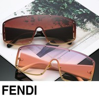 FENDI sells casual personality sunglasses with large lenses