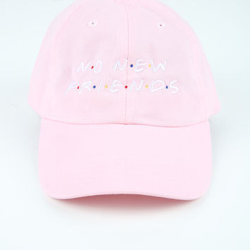 The Friends Dad Hat in Light Pink