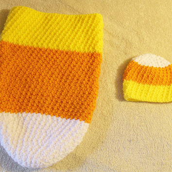 Candy Corn Halloween Costume - Infant Halloween Costume - Infant Photo-prop