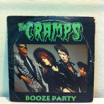 The cramps,Booze Party,Vinyl Record,Records,Vinyl Records Sale,Vinyl,LP Record,Record Album,Rockabilly,Psychobilly,Punk,Punk Vinyl,Punk Rock