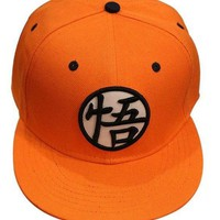 Dragonball Z Orange Goku Snapback