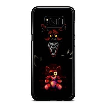 Five Nights At Freddy Fnaf 4 Nightmare Foxy Samsung Galaxy S8 Plus Case