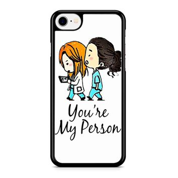 Grey S Anatomy iPhone 8 Case
