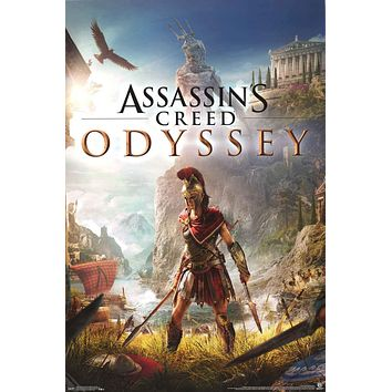 Assassin's Creed Odyssey Video Game Poster 22x34