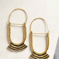 Seaworthy Ziggur Earring- Gold One