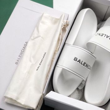 Balenciaga Summer beach sandals and slippers-1