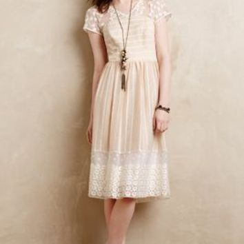 Poema Lace Dress by Moulinette Soeurs Ivory
