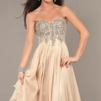 Sequined Empire Waist Gown by Jovani Prom