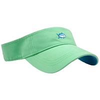 Mini Skipjack Visor in Sea Foam by Southern Tide