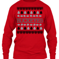 Ohio State Football Team Ugly Christmas Sweater