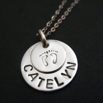Personalized Jewelry for Moms, New Mom Gift, Personalized Jewelry, Gift for New Mom, Kids Name Necklace