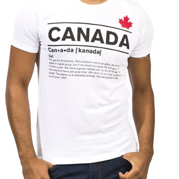 Guys 'Canada Definition' Graphic Tee