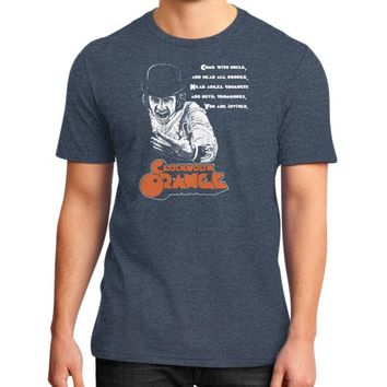CLOCKWORK ORANGE District T-Shirt (on man)