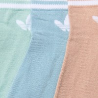 adidas Originals Pastel 3 Pack Logo Socks at asos.com