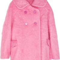 Carven | Oversized brushed-felt coat | NET-A-PORTER.COM